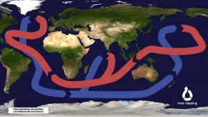 Mappa delle correnti oceaniche